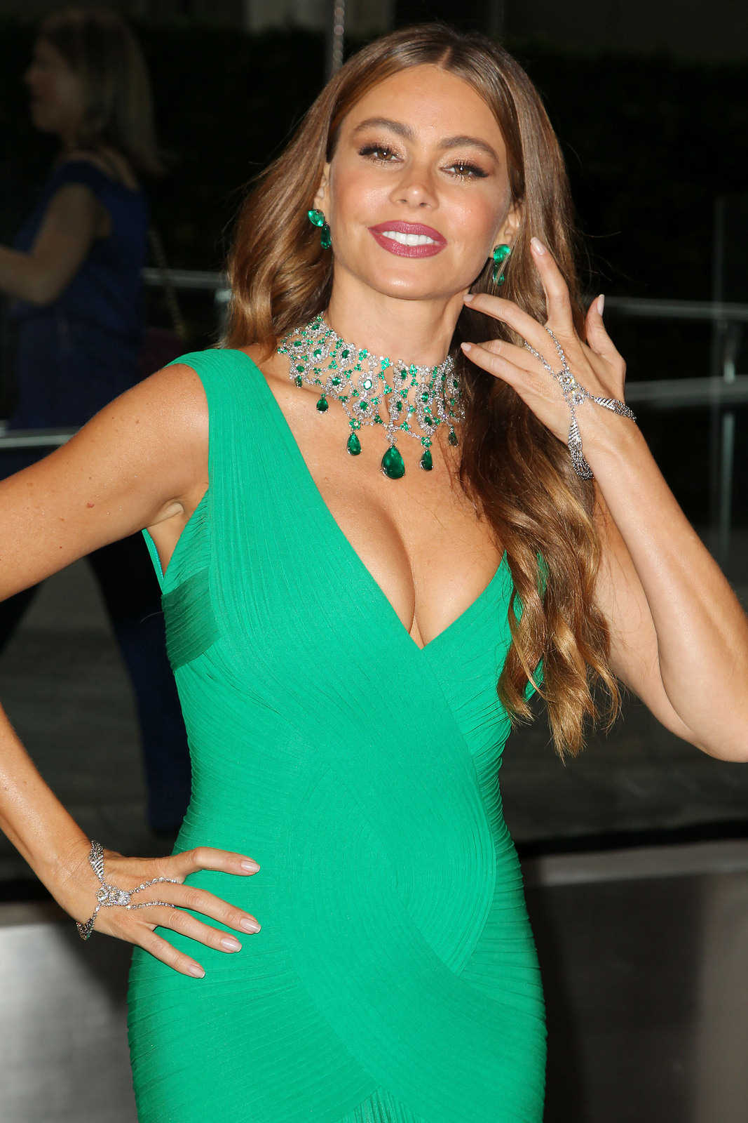 Gorgeous Sofia Vergara Cfda Fashion Awards In Nyc 2013