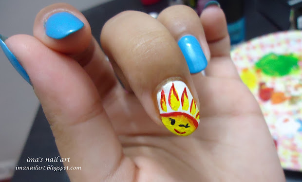 ima's nail art sun