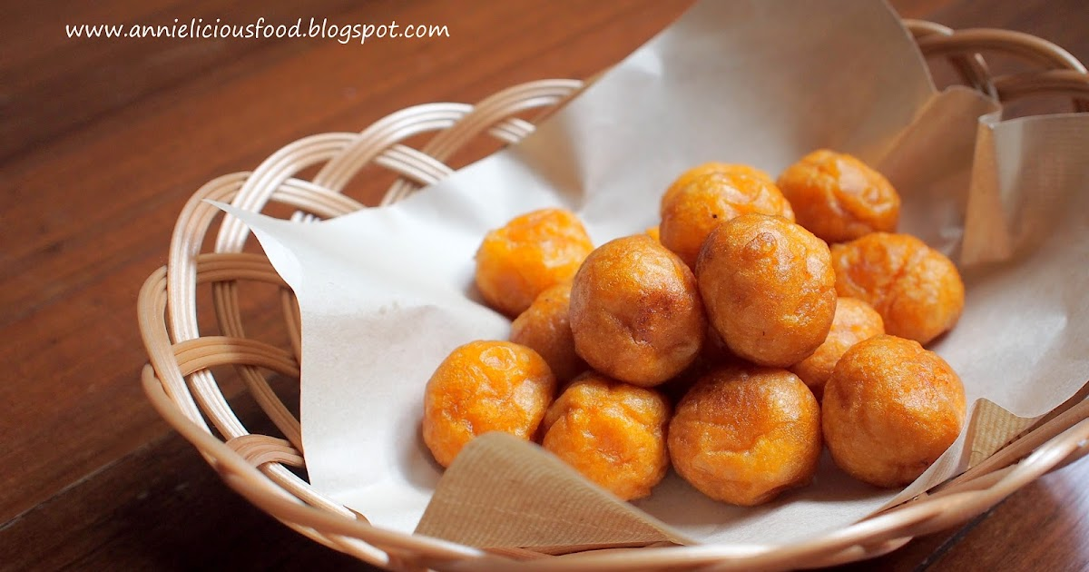 Annielicious Food: Fried Sweet Potato Balls (炸番薯蛋) - (MFF ...