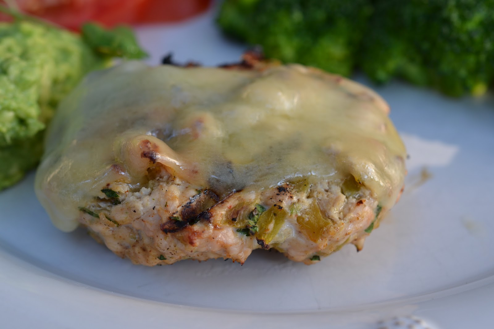 Feed Your Genes: Green Chili Turkey Burgers