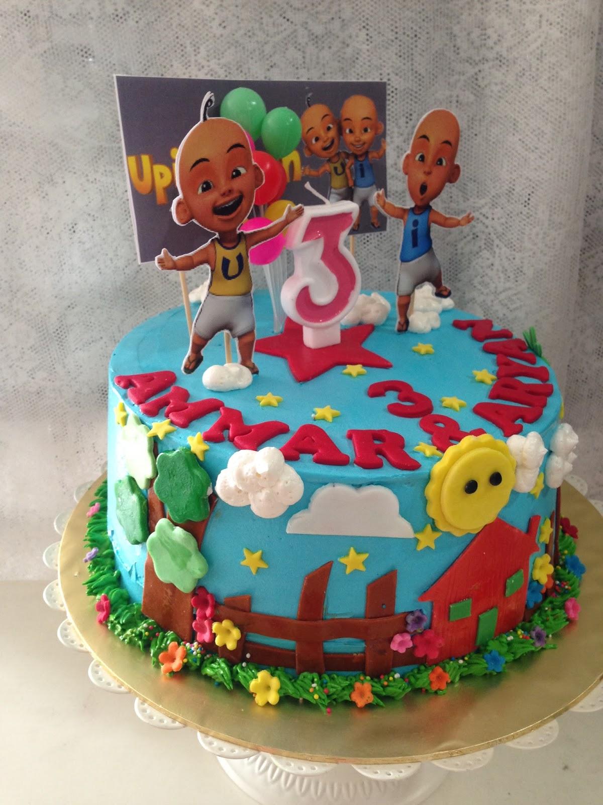 ninie cakes house: Upin & Ipin Birthday Cakes Theme