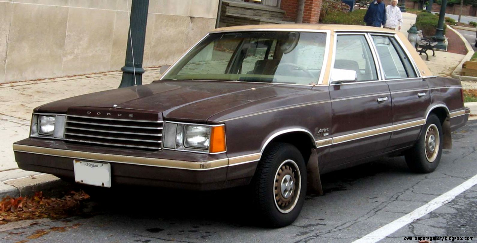 Dodge Aries Car 4 Doors 1985