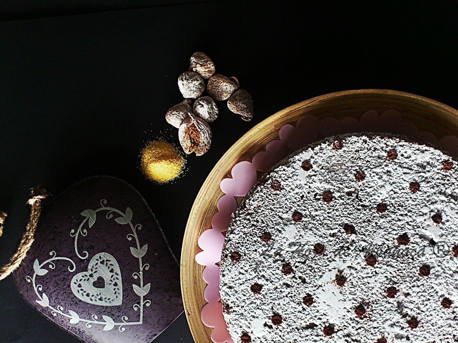 Bizcocho de polenta,Higos