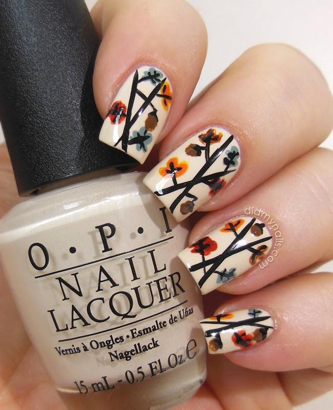 Thanksgiving Nail Art Tutorials: Did My Nails: November 2013
