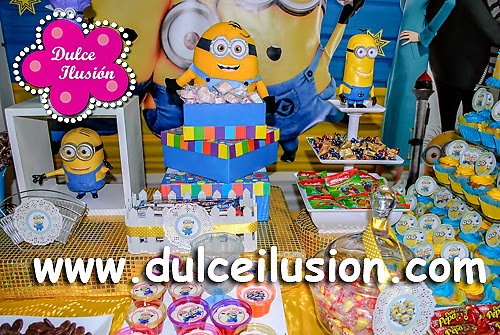 Decoracion Minions Para Fiestas Infantiles ~   de Fiestas Infantiles DECORACION FIESTA INFANTIL MINIONS  MI VILLANO