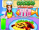 Cooking Fresh Red Fish
