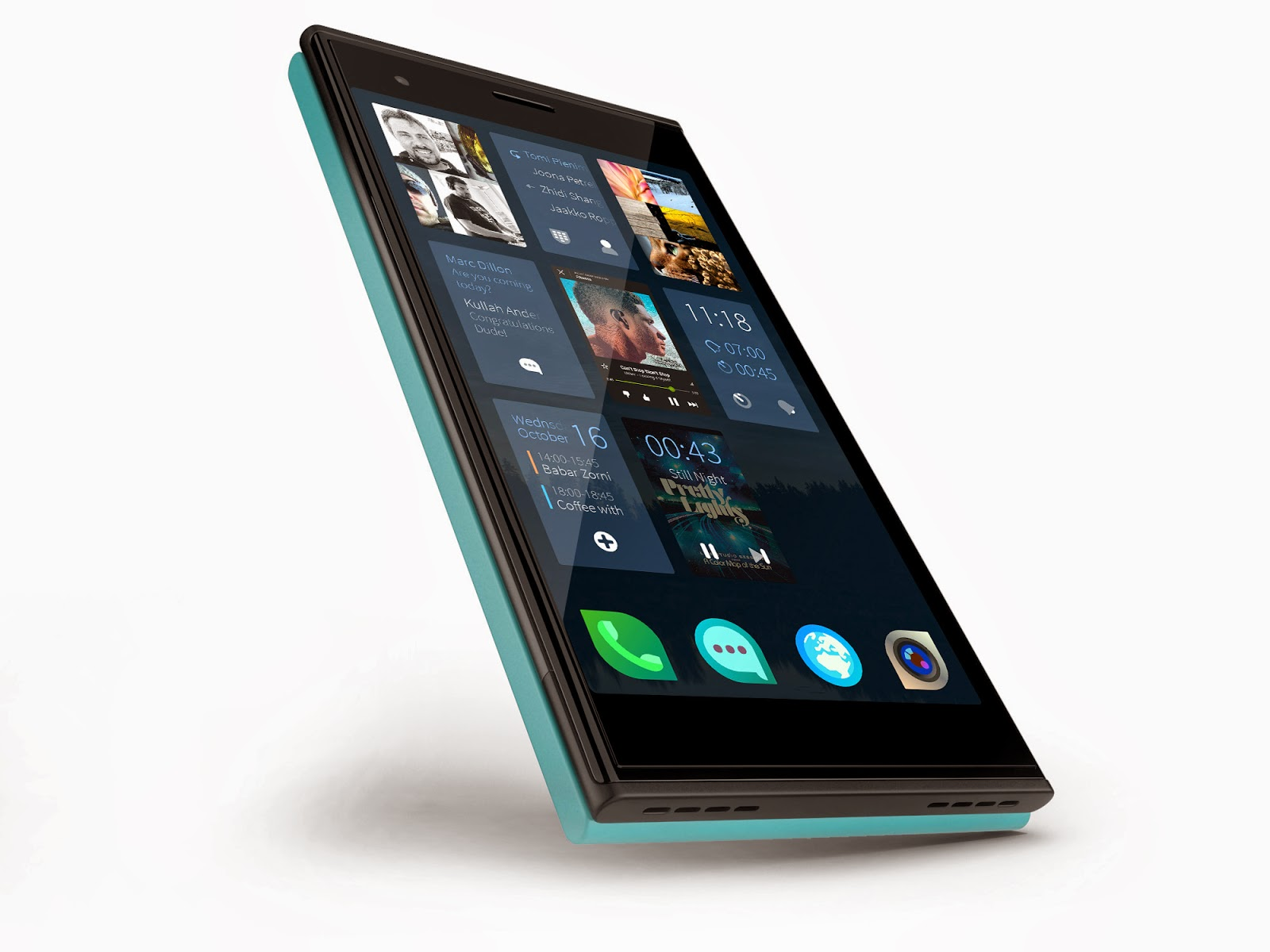 Smartphone Unlike de Jolla con Sailfish OS