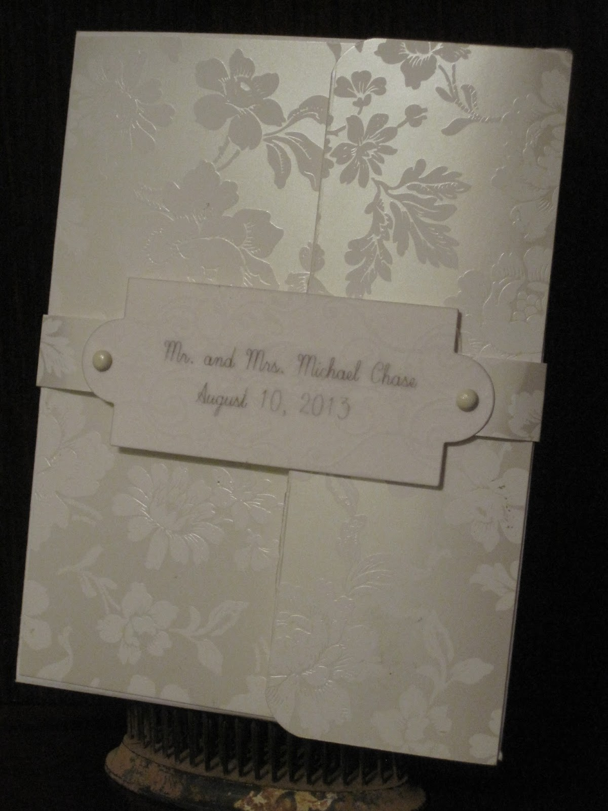 Wedding Gift Envelope Box : ... Glory: Wedding Card: That Keeps on Giving and an envelope