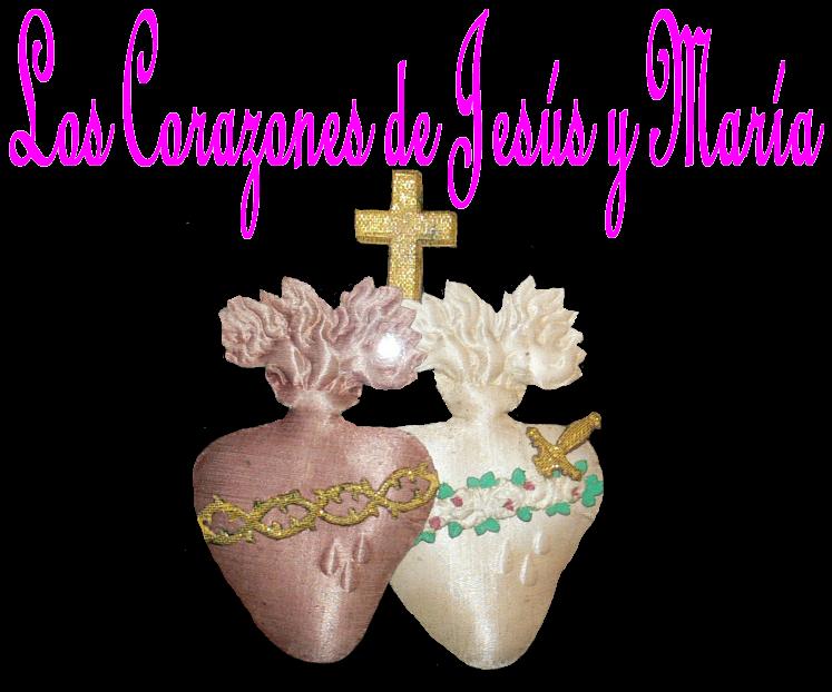 Los Corazones de Jesús y María