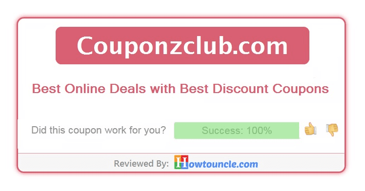 CouponzClub Review: Best online Deals with best Discount Coupons