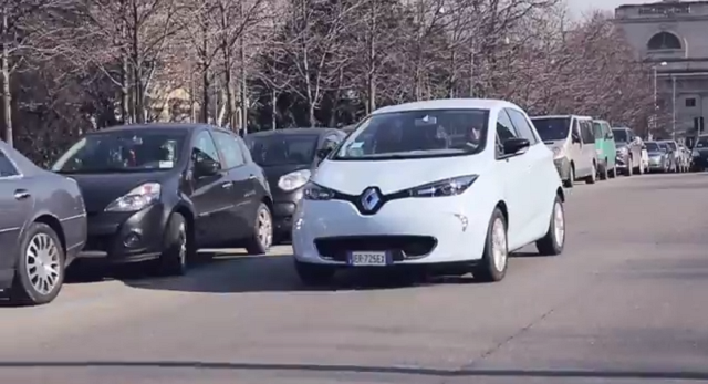 Renault ZOE auto elettrica prova the sixth sense