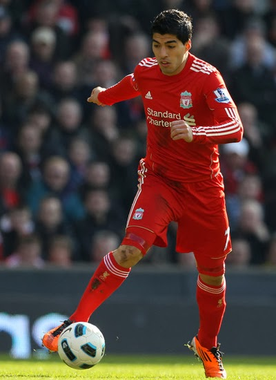 Luis Suarez Liverpool Contract 2013