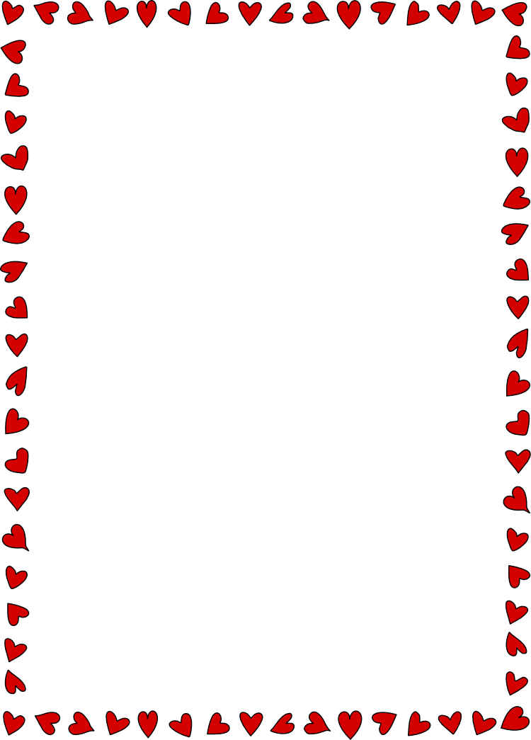 Gallery images and information: Valentine Page Borders