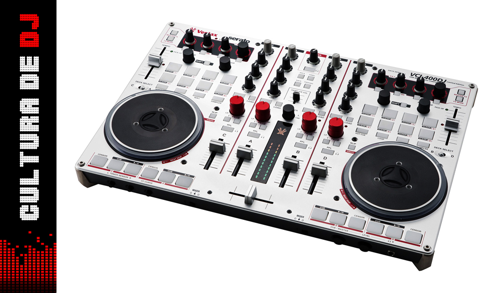 Controlador para DJ Vestax VCI-400DJ