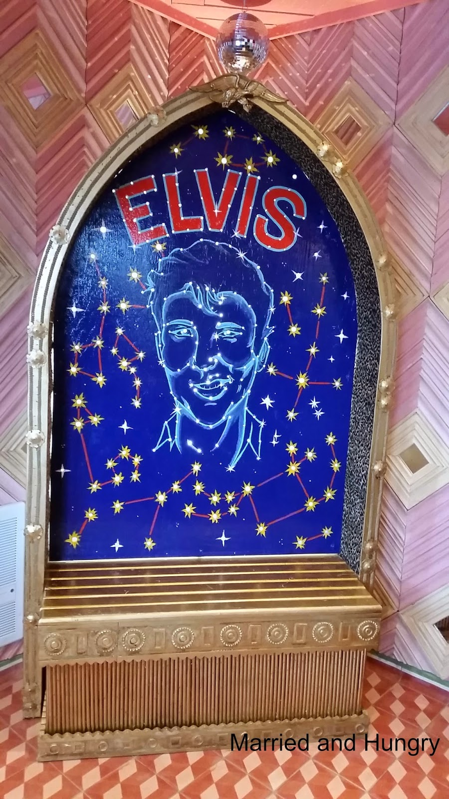Elvis Shrine at Chuy's North Little Rock