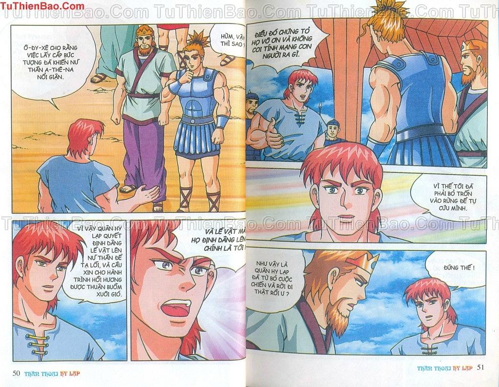 Thần thoại Hy Lạp Chapter 14 - Trang 24