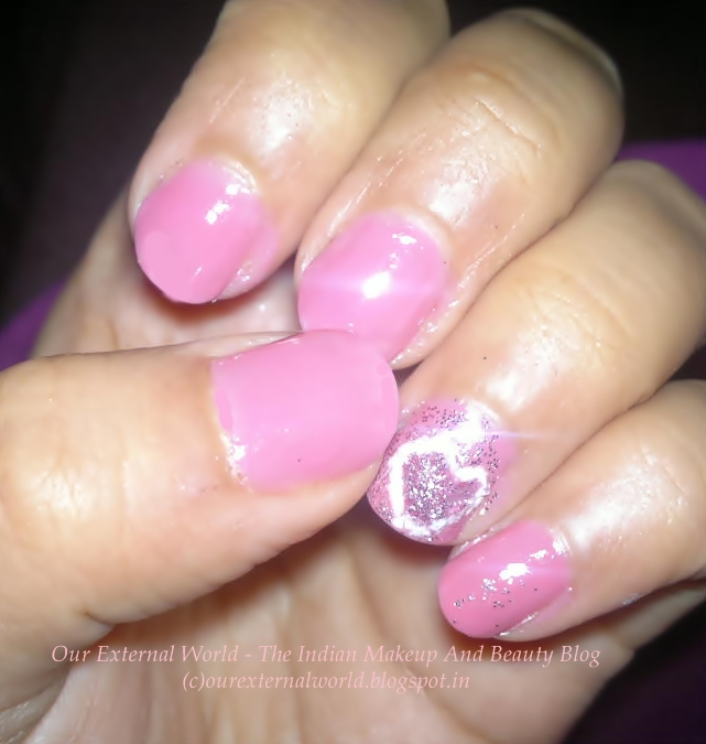 ... Makeup and Beauty Blog: Girly Girl Nail Art Challenge - Pink Nail Art