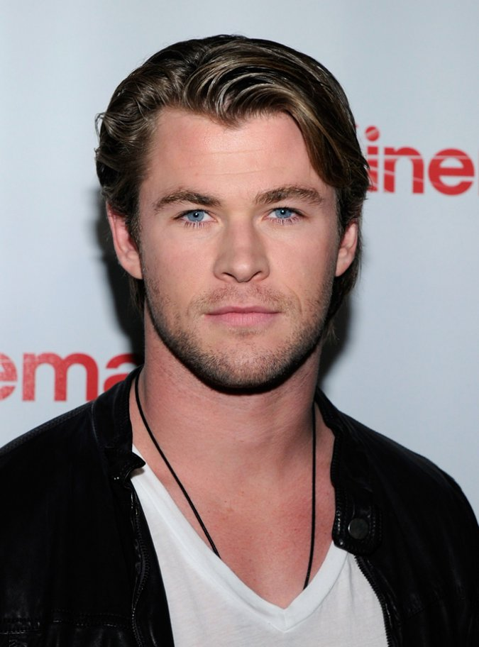 Chris Hemsworth Hairstyle Pictures 2012 Blondelacquer