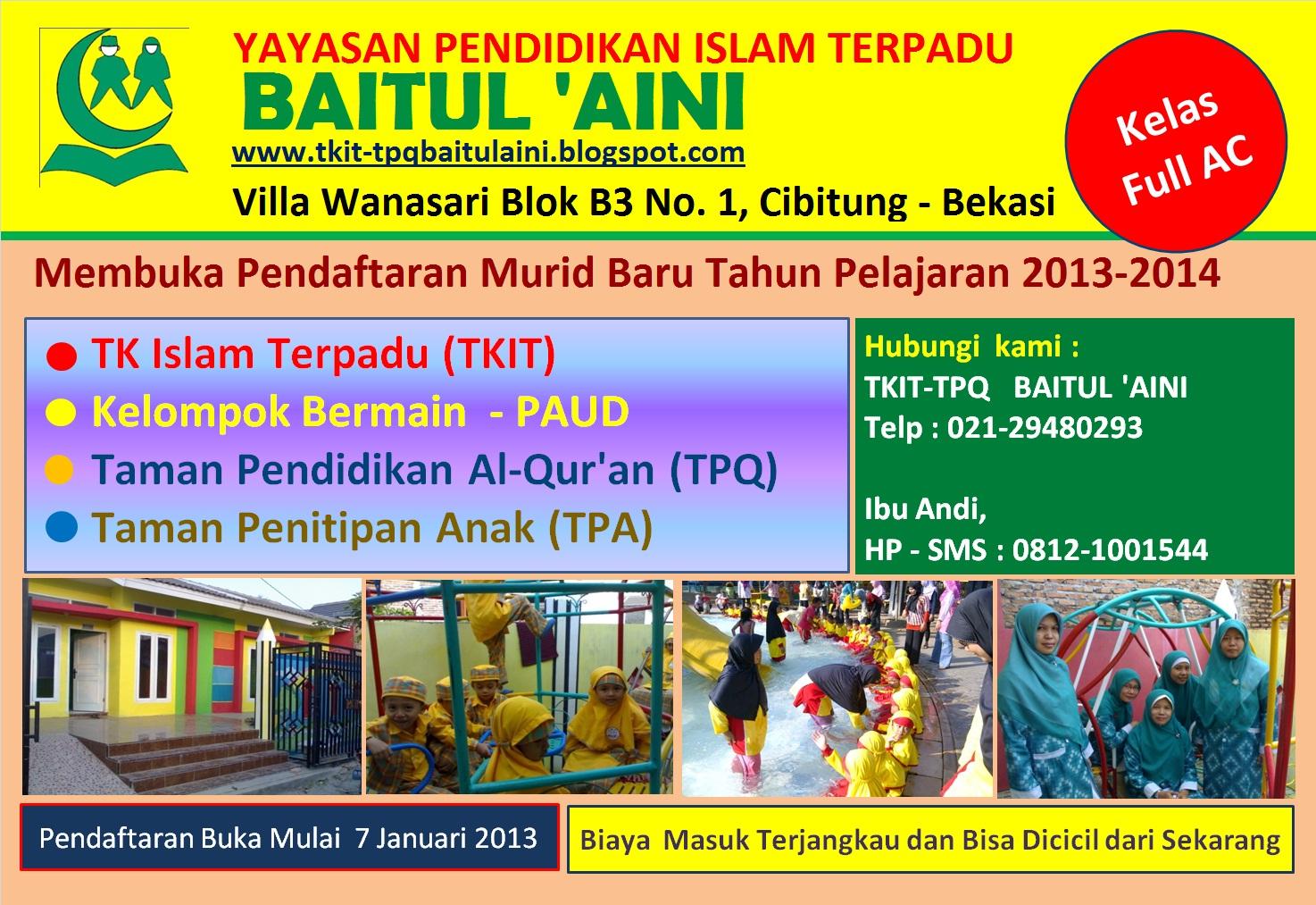 For: Taman Penitipan Anak Terpadu Baitul Aini Tpa Terpadu Baitul ...