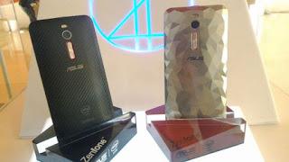 Asus Zenfone 2 Deluxe Special Edition dengan Memori 256GB dan RAM 4GB