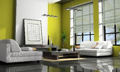 Warna Dinding Ruang Tamu Minimalis