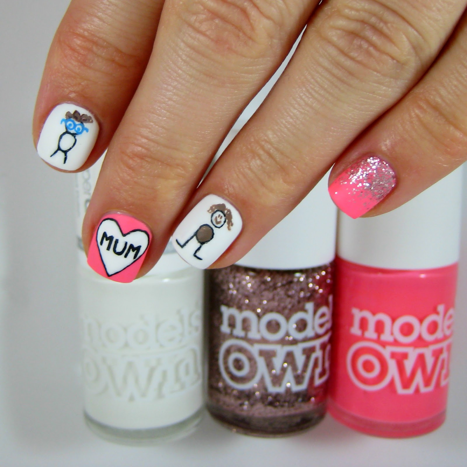 Dahlia Nails: Happy Mother\'s Day!
