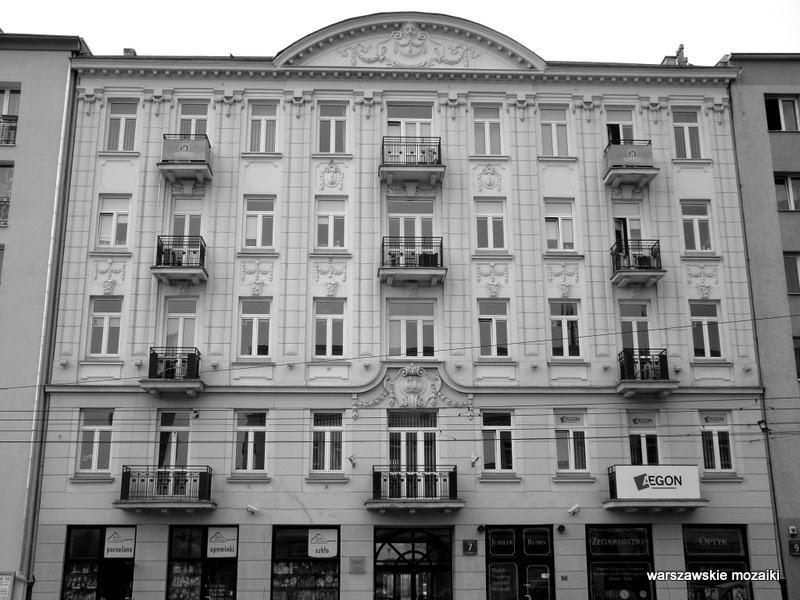 kamienica Tomasza Lisowskiego Warszawa Wola zabytek