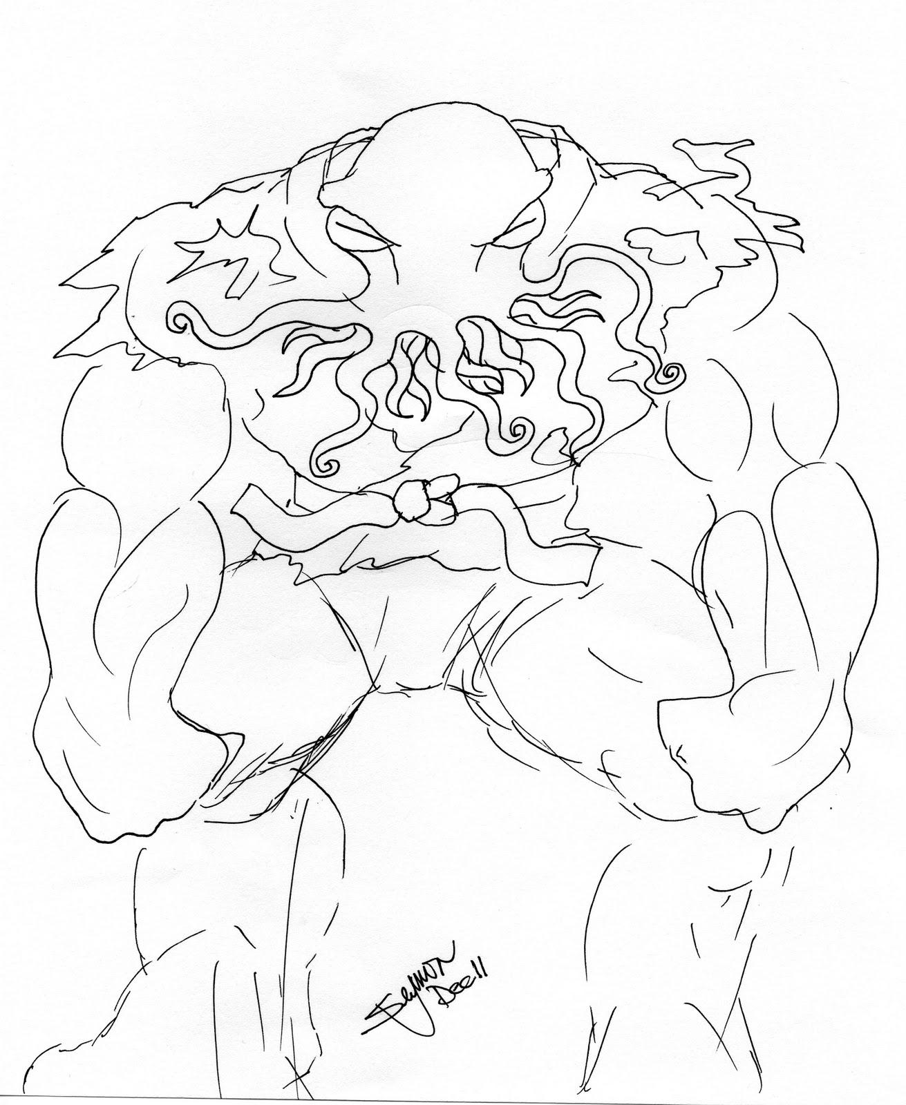 meerkatsu art octjitsu man and octodragon
