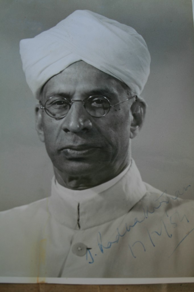 sarvepalli radhakrishnan While the world celebrates international teacher's day on the 15th of october, india celebrates it on the 5th of september, which is also the birthday of the famous teacher, academic philosopher and the second president of india, mr sarvepalli radhakrishan.