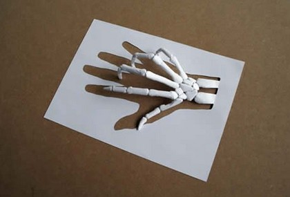 Peter Callesen paper art work