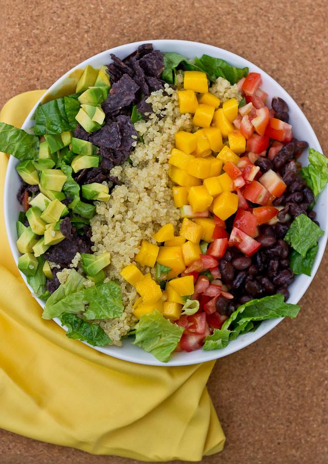 Quinoa Taco Salad | love & zest
