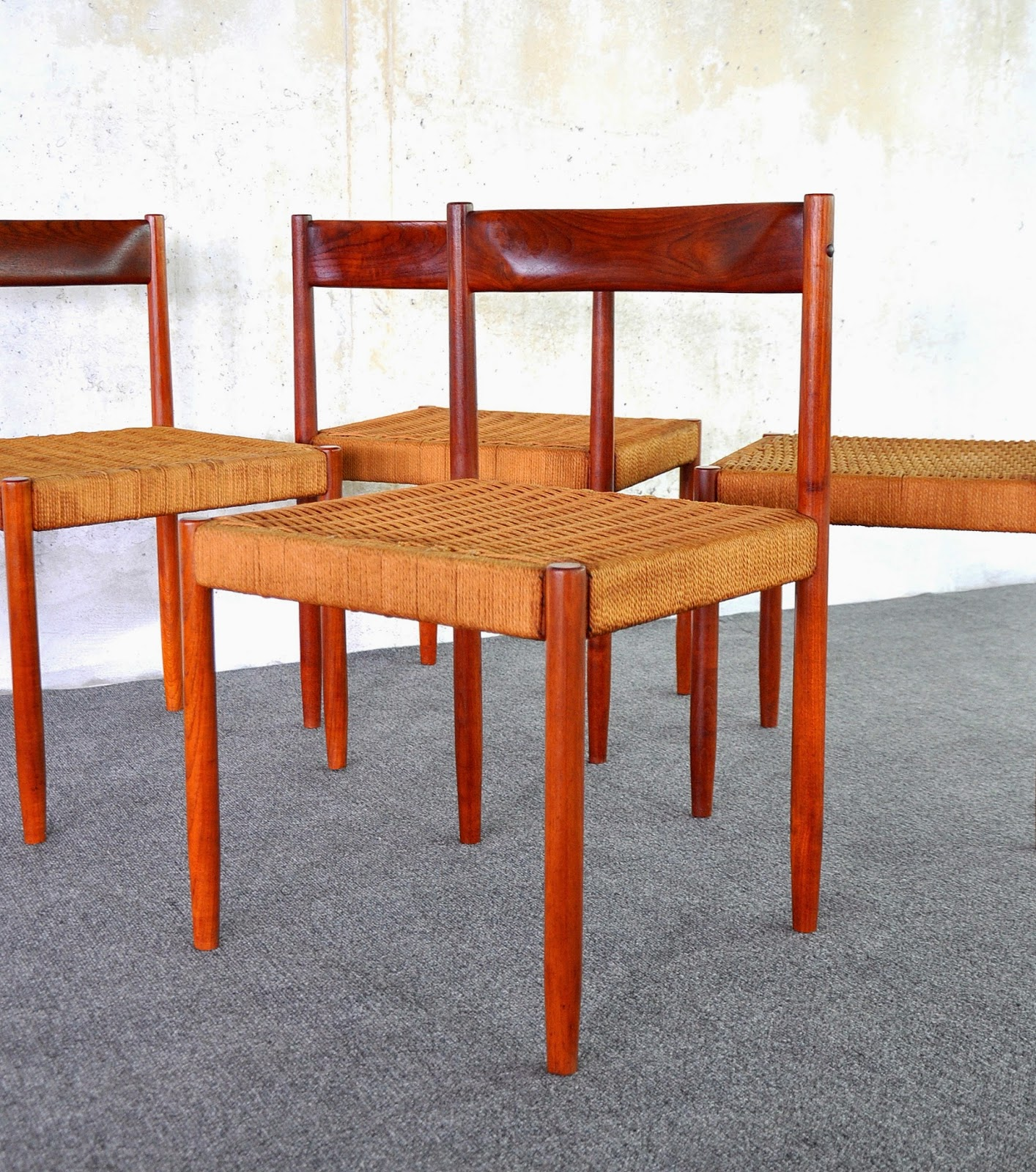 SELECT MODERN: Danish Modern Teak Dining Chairs