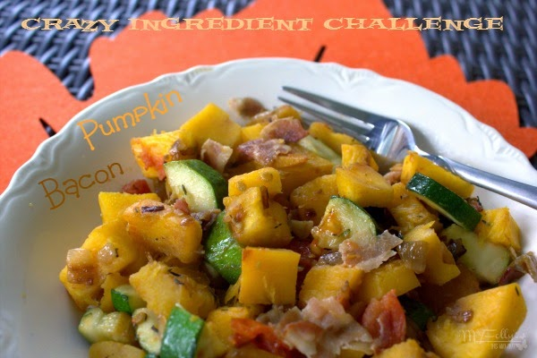Pumpkin Bacon Ratatouille/This and That #pumpkinrecipe #baconrecipe #vegetable #CIC