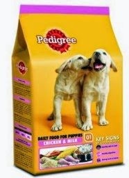 Buy Pedigree Puppy Chicken and Milk, 400g for Rs.38 at Amazon