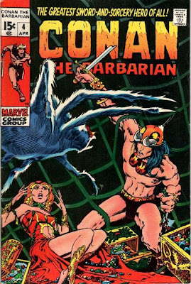 Conan the Barbarian #4, Barry Windsor Smith, giant spider