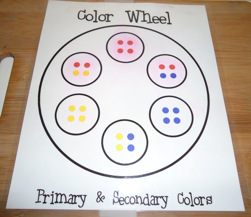 To The Lesson Color Mixing Extravaganza