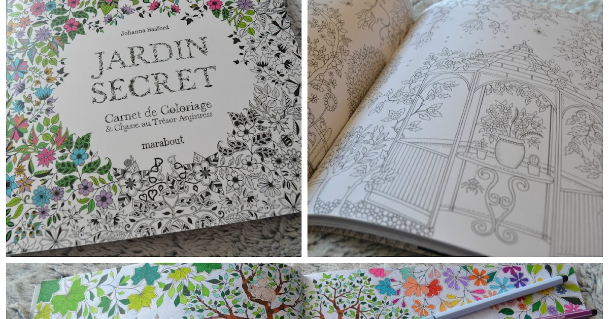 Cr a colo revue jardin secret carnet de coloriage for Au jardin secret de tadine