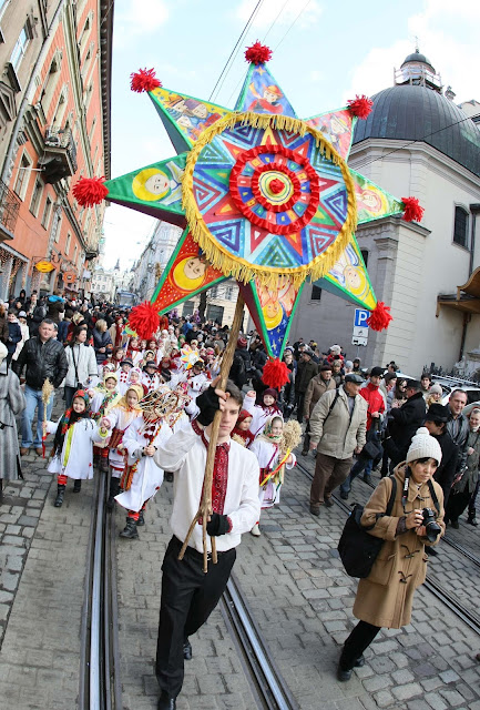Christmas Parade 2012 in Lviv, Ukraine