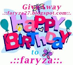 GA Birthday Faryza