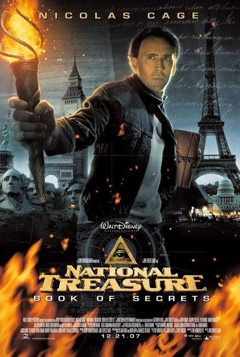 poster Kho báu quốc gia 2: Cuốn sách tối mật