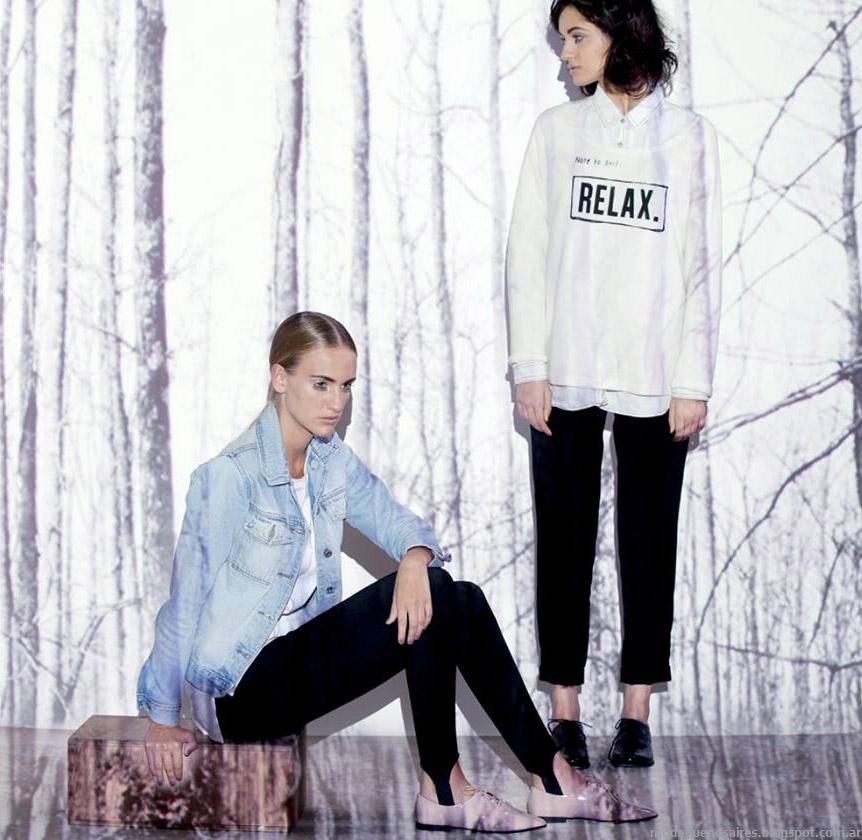 Núcleo otoño invierno 2015 camperas de jeans.
