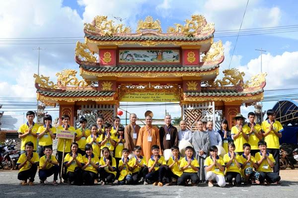 Khóa tu mùa Hè Chùa Hoa Quang Huyện ĐăkSong 07