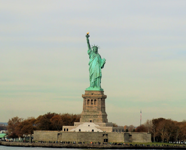 Liberty Island - statue de la liberté