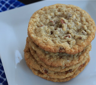 oatmeal coconut and cinnamon chip cookies