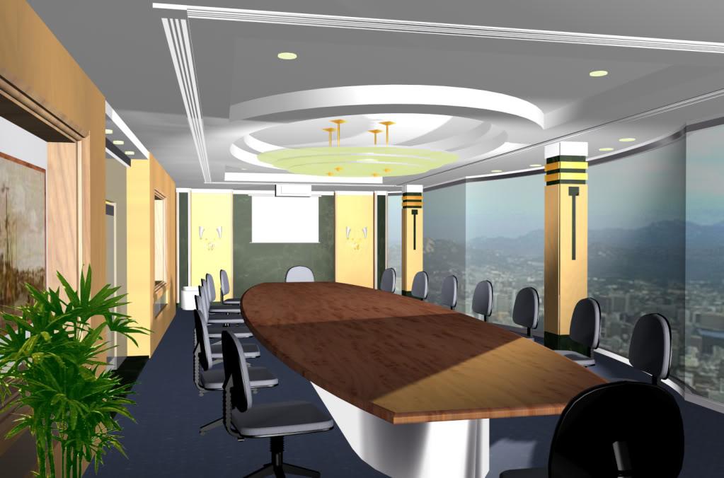 Desain Ruang Rapat Yang Ideal Pulat