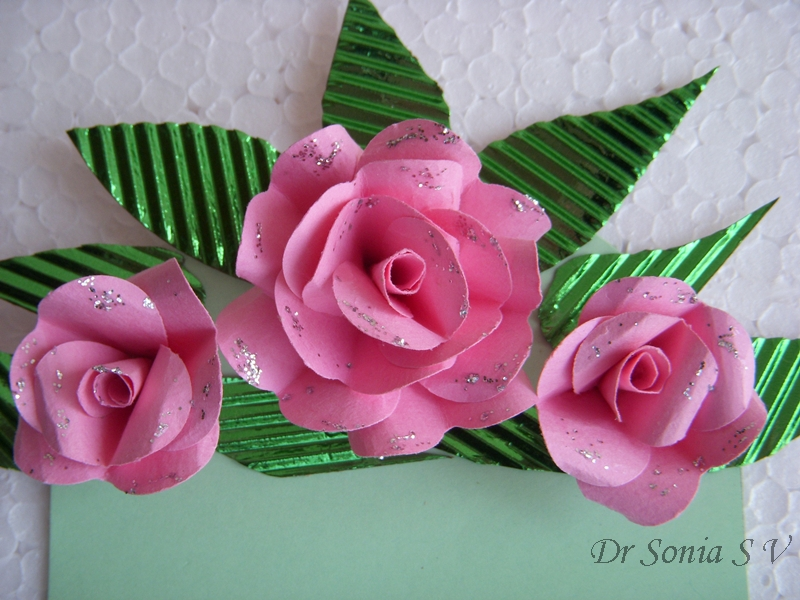 Cards crafts kids projects flower pot card and tutorial heart punch roses ccuart Image collections