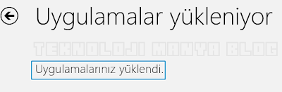 Windows 8 Uygulama apps