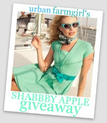 Urban Farmgirl's Shabby Apple Giveaway