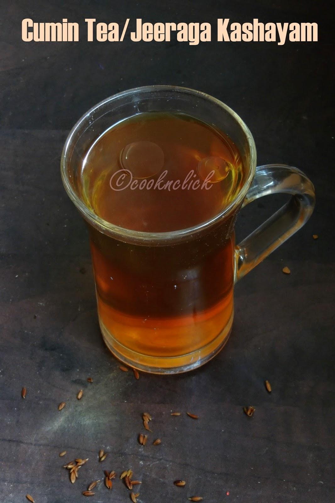 Jeera Tea/Cumin Tea/Jeeraga Kashayam