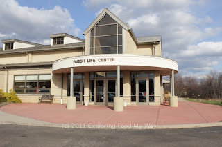 Entrance to Parish Life Center